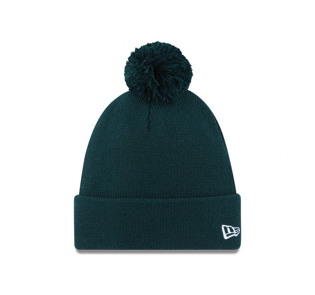 Pom Pom Knit Dark Green